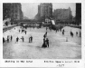 9e8 Skating in the Canal; Clinton Square about 1910
