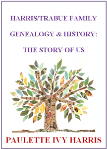 HARRIS TRABUE FAMILY HISTORY FRONT COVER