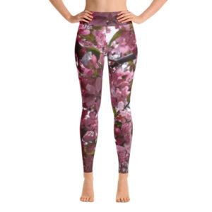 Apple Blossom Yoga Leggings