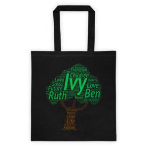Ivy Family Tote Bag (Black)