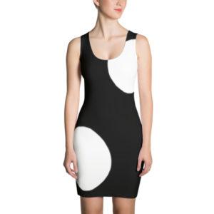 Hello Sunshine Dress (Black/White)