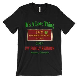 Ivy Family Reunion Unisex Short Sleeve Tee